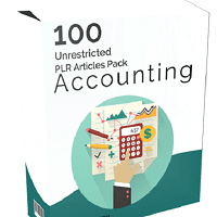 100 Accounting PLR Articles Pack