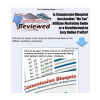 Commission Blueprint Presell Template