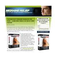 Migraine Landing Page Template