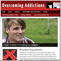 Overcoming Addiction Niche Site